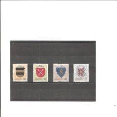 Sellos: LIECHTENSTEIN. ESCUDOS DE ARMAS NOBLES (II).. Lote 221573392