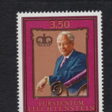 Sellos: LIECHTENSTEIN 844** - AÑO 1986 - 80º ANIVERSARIO DEL PRÍNCIPE FRANCISCO JOSE II. Lote 222049108