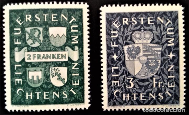LIECHTENSTEIN FÜRSTENTUM YVERT 159 - 160 ** MNH (Sellos - Extranjero - Europa - Liechtenstein)