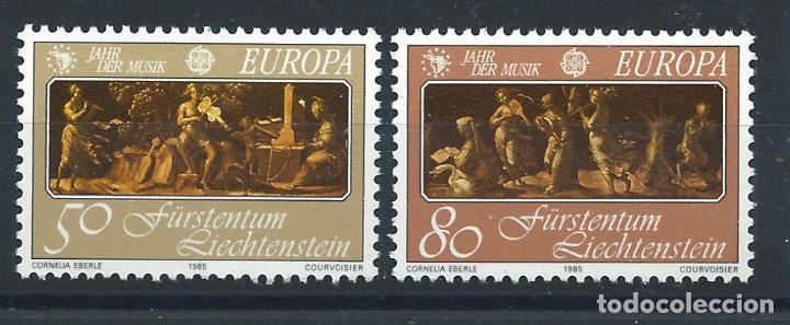 "LIECHTENSTEIN N°807/08** (MNH) 1985 - EUROPA ""ANNÉE EUROPÉENNE DE LA MUSIQUE"" (Sellos - Extranjero - Europa - Liechtenstein)"
