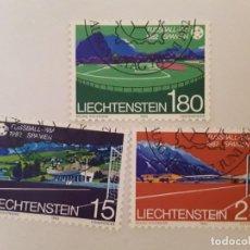 Selos: AÑO 1982 LIECHTENSTEIN SERIE USADO. Lote 232456410