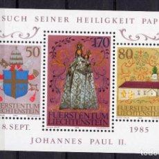 Sellos: LIECHTENSTEIN, ,SOUVENIR-SHEET, ,1985, MICHEL BL12 MNH. Lote 235658625