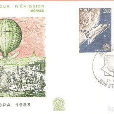 Sellos: SPD -FDC, MONACO, 1983, TEMA EUROPA. Lote 235697230