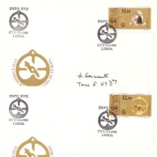 Sellos: SPD -FDC PORTUGAL, EXPO XVII-, 1983, IV. 1574/79, 6 SOBRES.. Lote 235698170
