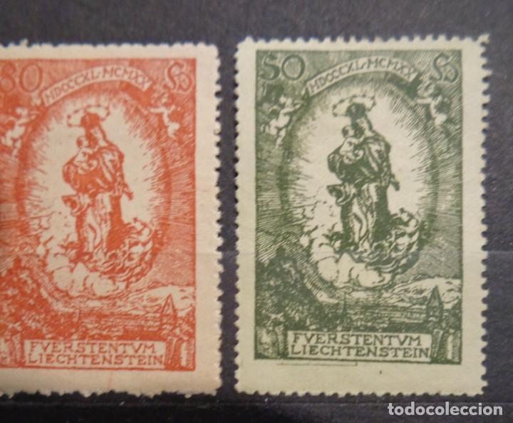 Sellos: Lichtenstein los sellos - Foto 3 - 242380900