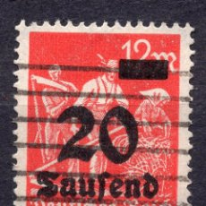 Sellos: -ALEMANIA IMPERIO, 1923 , MICHEL 280 USED. Lote 245238720