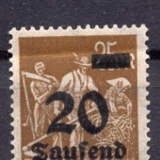 Sellos: -ALEMANIA IMPERIO, 1923 , MICHEL 281 MNH. Lote 245238955
