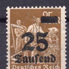 Sellos: -ALEMANIA IMPERIO, 1923 , MICHEL 283 MNH. Lote 245239175