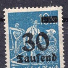 Sellos: -ALEMANIA IMPERIO, 1923 , MICHEL 284 MNH. Lote 245239220