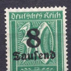Francobolli: -ALEMANIA IMPERIO, 1923 , MICHEL 278X MNH. Lote 262607915