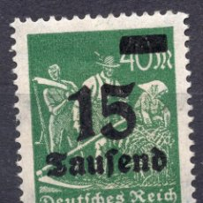Sellos: -ALEMANIA IMPERIO, 1923 , MICHEL 279A MNH. Lote 245240440