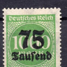 Sellos: -ALEMANIA IMPERIO, 1923 , MICHEL 288 I MNH. Lote 245240670