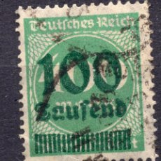 Sellos: -ALEMANIA IMPERIO, 1923 , MICHEL 290 USED. Lote 245264675