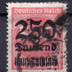 Sellos: -ALEMANIA IMPERIO, 1923 , MICHEL 295 USED. Lote 245265275