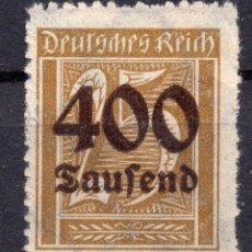 Sellos: -ALEMANIA IMPERIO, 1923 , MICHEL 298 MNH. Lote 245265475