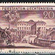 Sellos: LIECHTENSTEIN IVERT Nº 243 (AÑO 1949), 250 ANIVERSARIO DE LA ADQUISICPON DE SCHELLENBERG, USADO. Lote 247405645