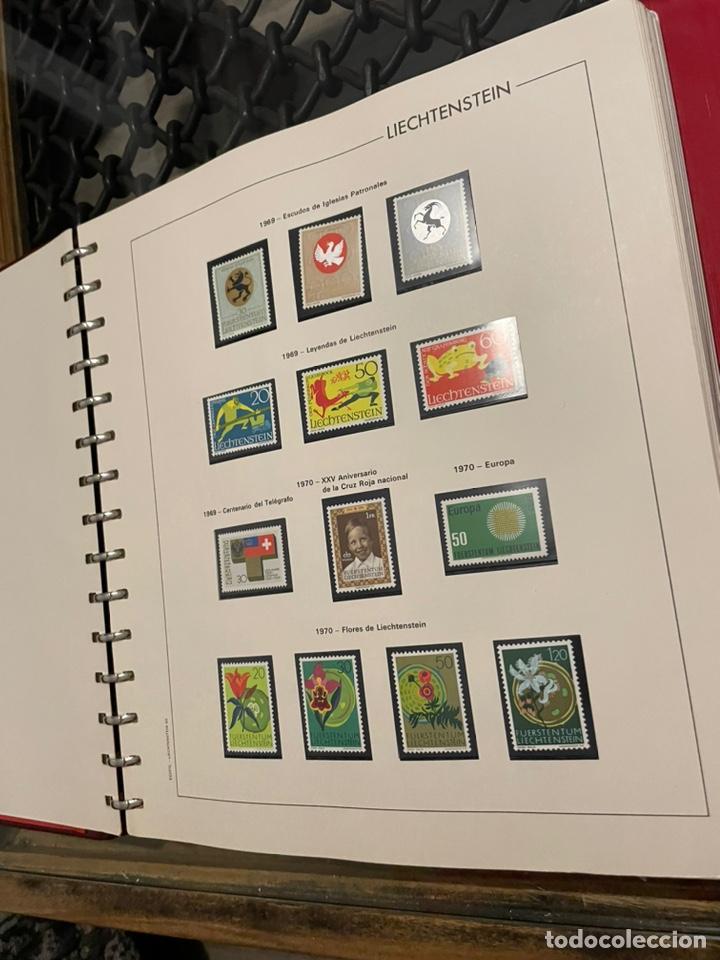 Sellos: Colección Casi Completa Sellos Liechtenstein 1969 a 1987 - Foto 3 - 248632895