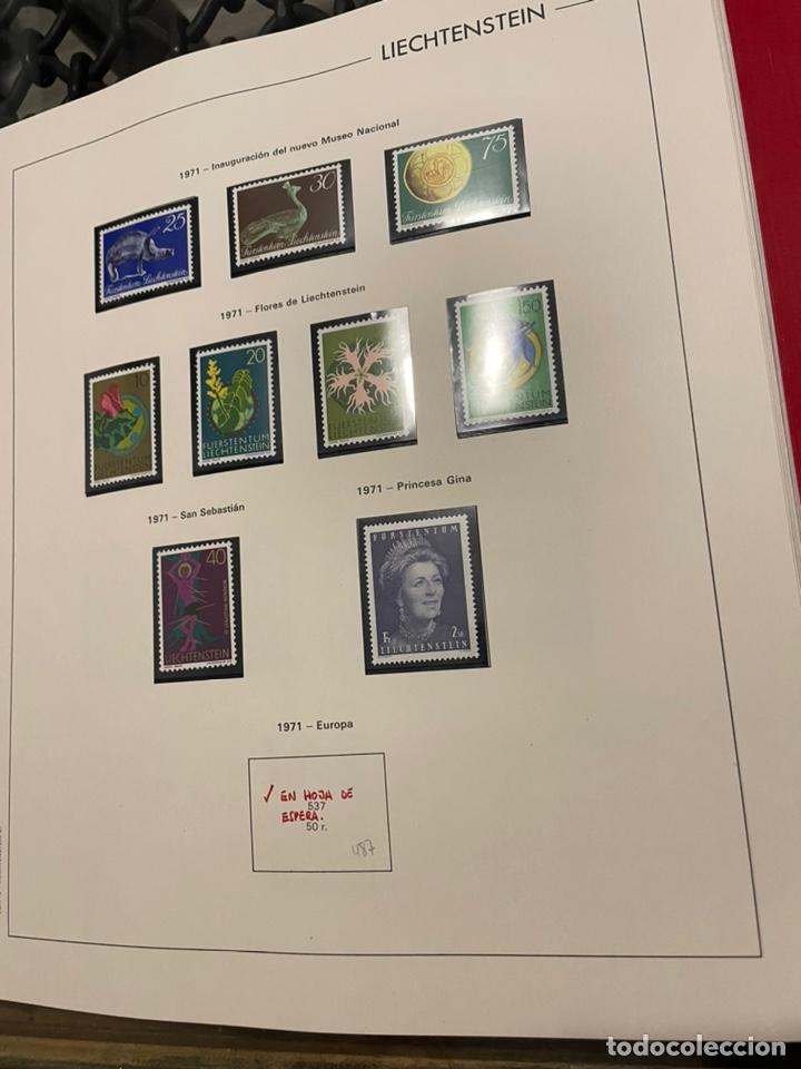 Sellos: Colección Casi Completa Sellos Liechtenstein 1969 a 1987 - Foto 5 - 248632895