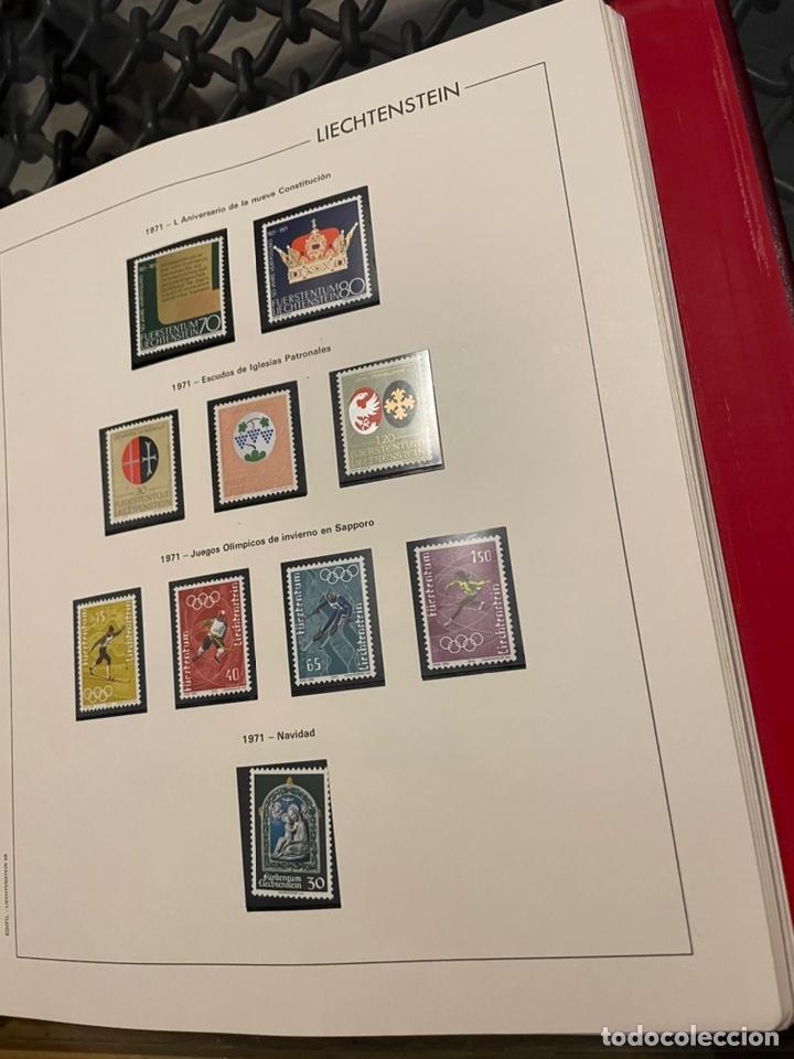 Sellos: Colección Casi Completa Sellos Liechtenstein 1969 a 1987 - Foto 6 - 248632895