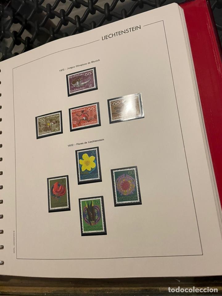 Sellos: Colección Casi Completa Sellos Liechtenstein 1969 a 1987 - Foto 7 - 248632895