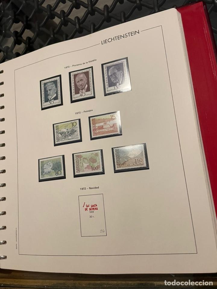 Sellos: Colección Casi Completa Sellos Liechtenstein 1969 a 1987 - Foto 9 - 248632895