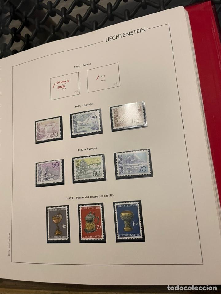 Sellos: Colección Casi Completa Sellos Liechtenstein 1969 a 1987 - Foto 10 - 248632895