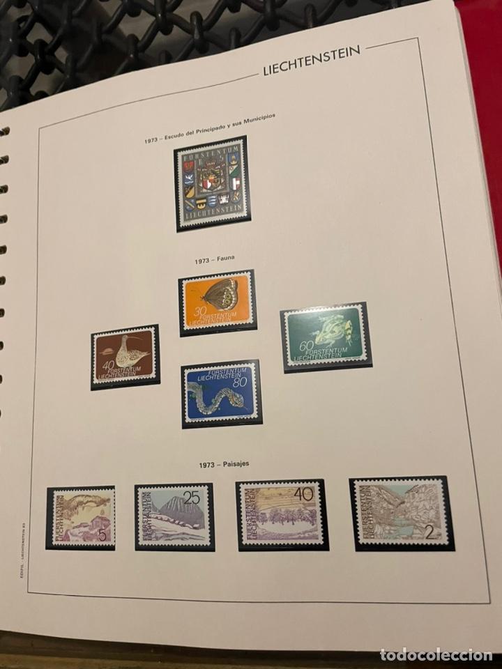 Sellos: Colección Casi Completa Sellos Liechtenstein 1969 a 1987 - Foto 11 - 248632895