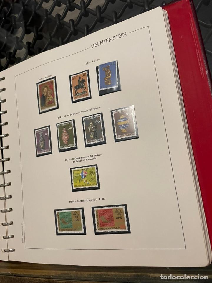 Sellos: Colección Casi Completa Sellos Liechtenstein 1969 a 1987 - Foto 12 - 248632895