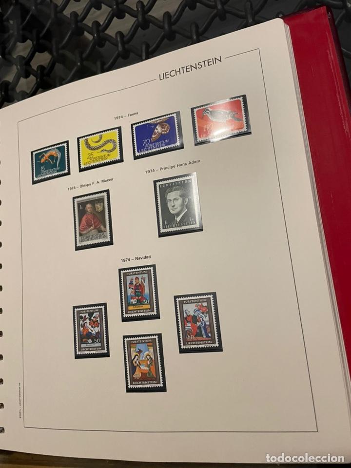 Sellos: Colección Casi Completa Sellos Liechtenstein 1969 a 1987 - Foto 13 - 248632895