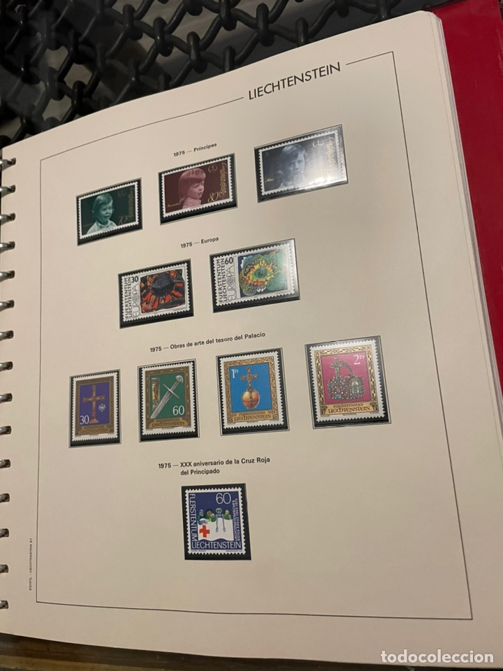 Sellos: Colección Casi Completa Sellos Liechtenstein 1969 a 1987 - Foto 15 - 248632895