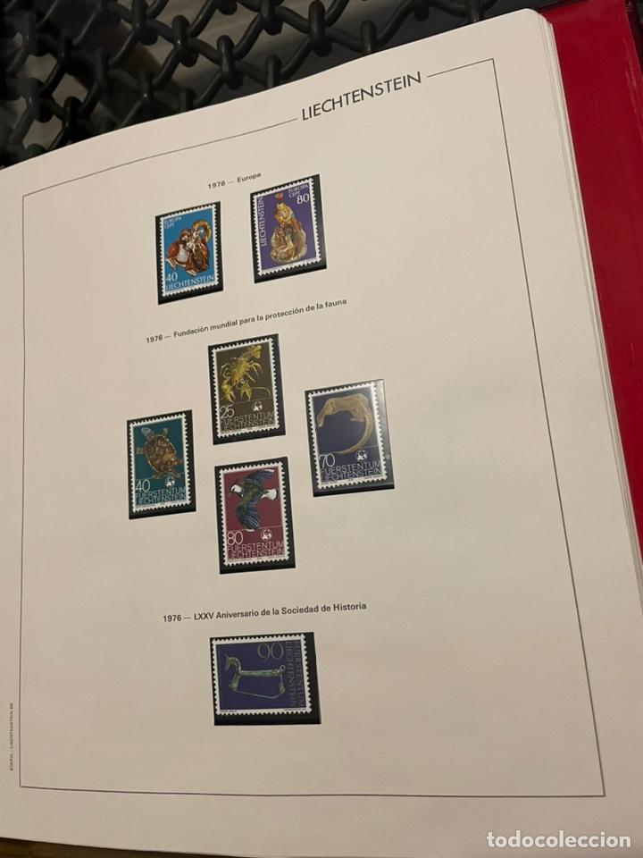 Sellos: Colección Casi Completa Sellos Liechtenstein 1969 a 1987 - Foto 17 - 248632895