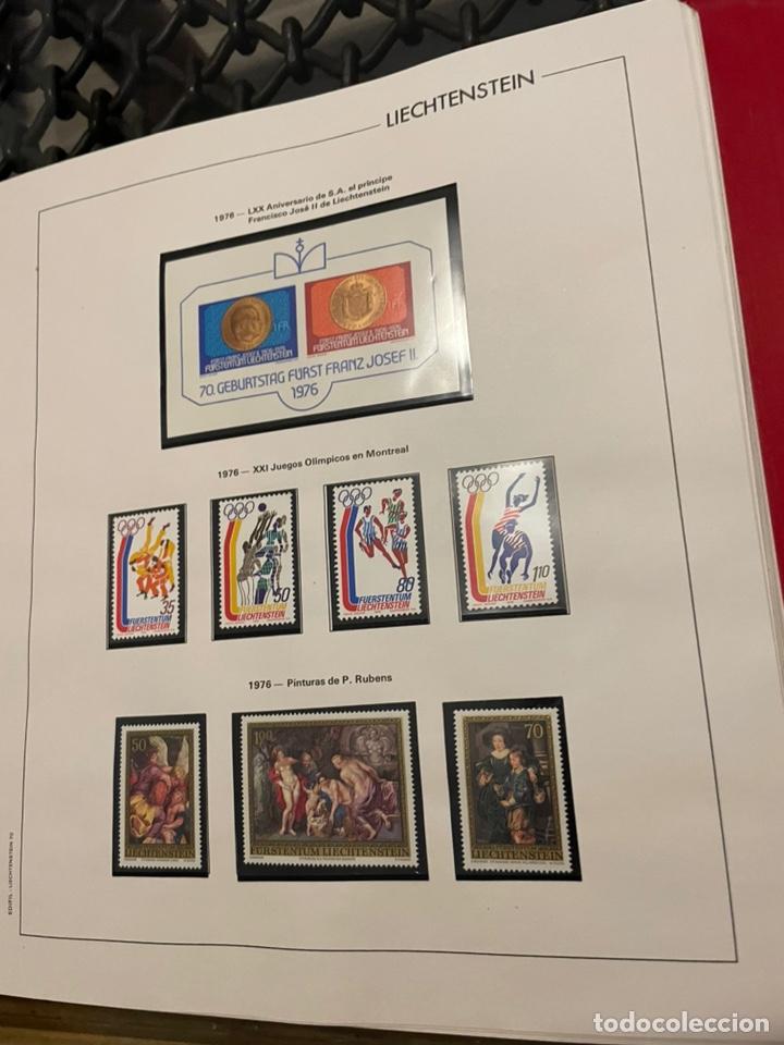 Sellos: Colección Casi Completa Sellos Liechtenstein 1969 a 1987 - Foto 18 - 248632895