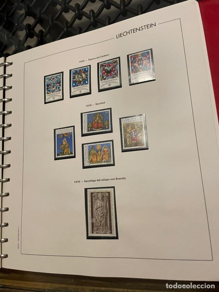 Sellos: Colección Casi Completa Sellos Liechtenstein 1969 a 1987 - Foto 19 - 248632895