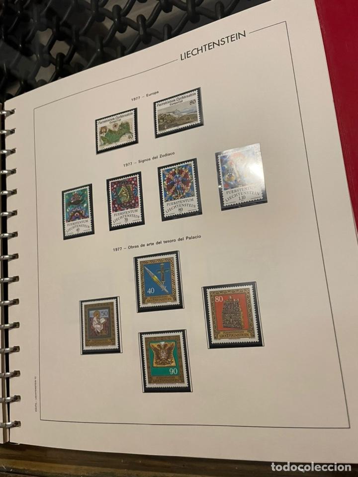 Sellos: Colección Casi Completa Sellos Liechtenstein 1969 a 1987 - Foto 20 - 248632895
