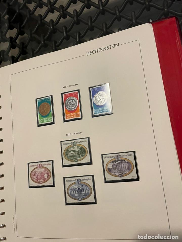 Sellos: Colección Casi Completa Sellos Liechtenstein 1969 a 1987 - Foto 21 - 248632895