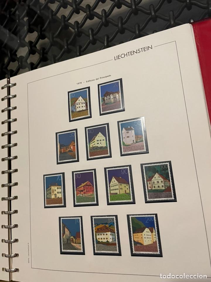 Sellos: Colección Casi Completa Sellos Liechtenstein 1969 a 1987 - Foto 23 - 248632895