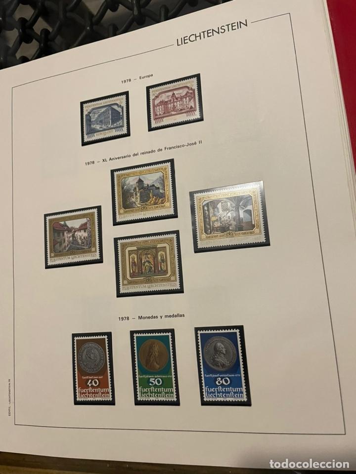 Sellos: Colección Casi Completa Sellos Liechtenstein 1969 a 1987 - Foto 24 - 248632895