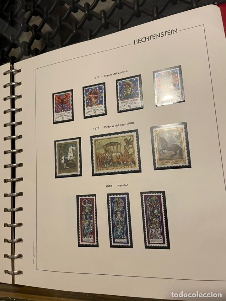 Sellos: Colección Casi Completa Sellos Liechtenstein 1969 a 1987 - Foto 25 - 248632895