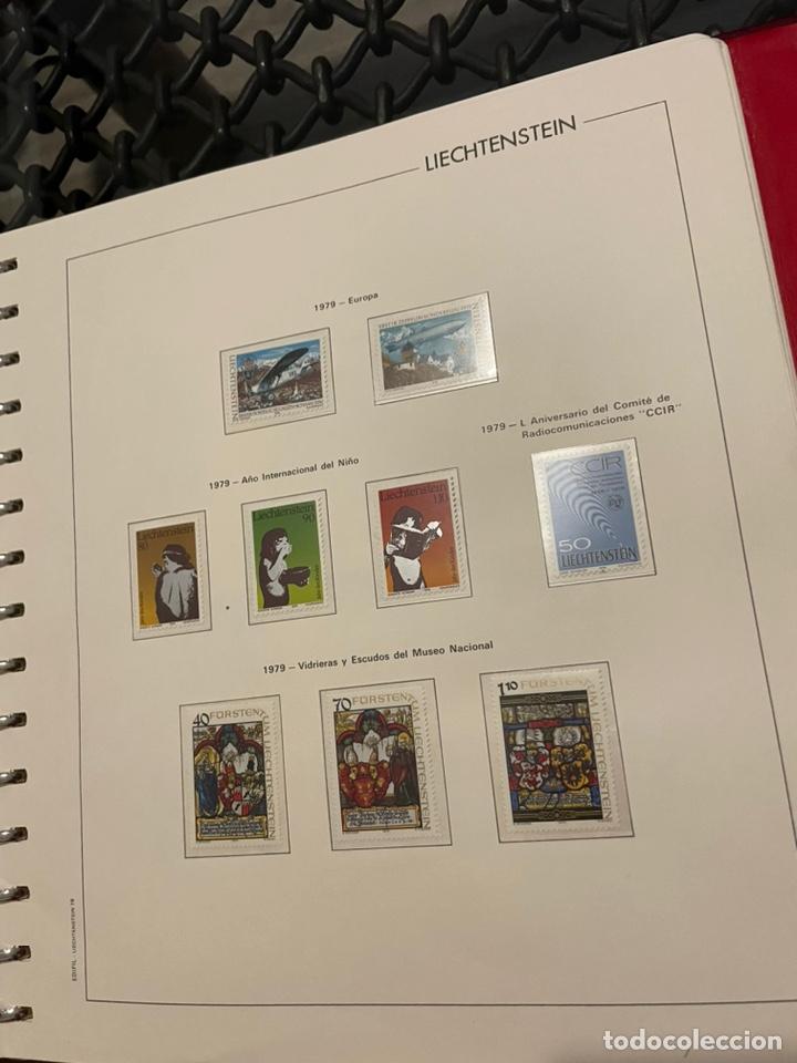 Sellos: Colección Casi Completa Sellos Liechtenstein 1969 a 1987 - Foto 26 - 248632895
