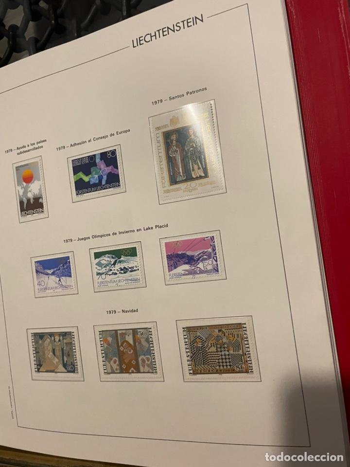 Sellos: Colección Casi Completa Sellos Liechtenstein 1969 a 1987 - Foto 27 - 248632895