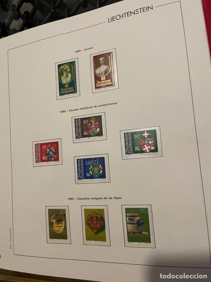 Sellos: Colección Casi Completa Sellos Liechtenstein 1969 a 1987 - Foto 28 - 248632895