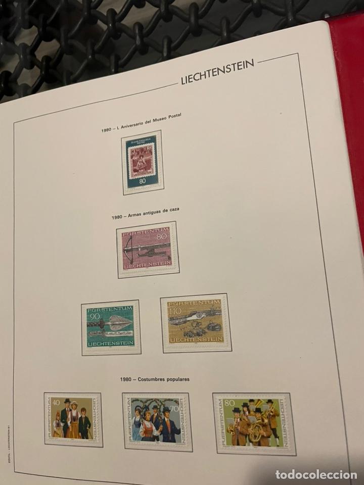 Sellos: Colección Casi Completa Sellos Liechtenstein 1969 a 1987 - Foto 29 - 248632895