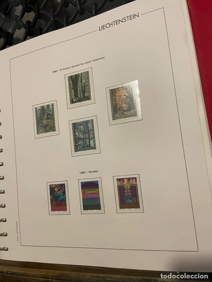Sellos: Colección Casi Completa Sellos Liechtenstein 1969 a 1987 - Foto 30 - 248632895