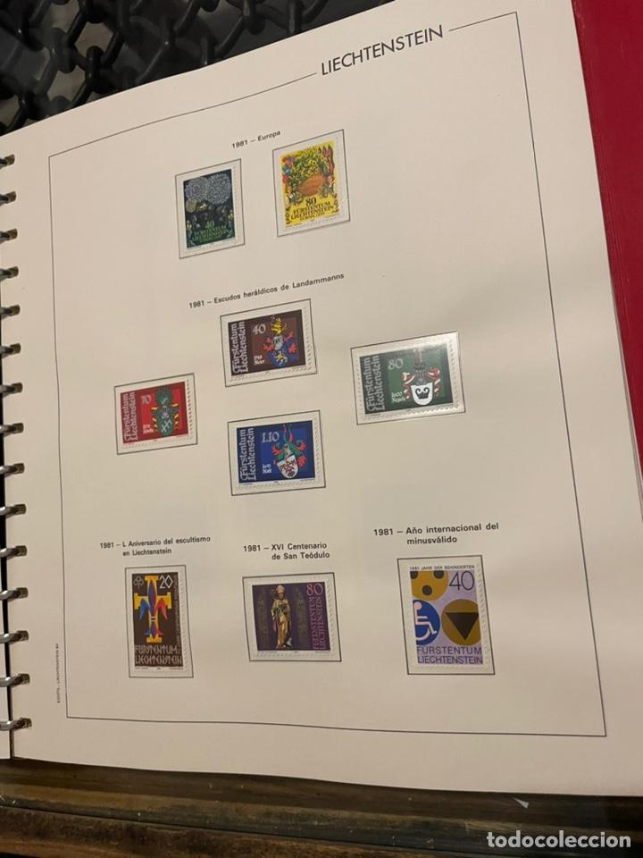 Sellos: Colección Casi Completa Sellos Liechtenstein 1969 a 1987 - Foto 31 - 248632895