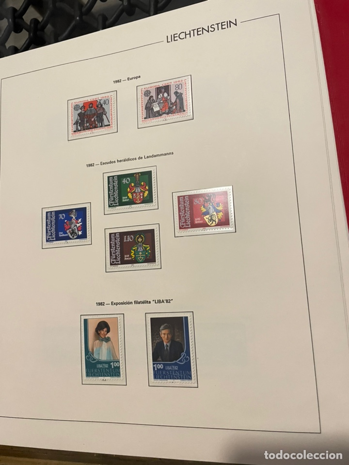 Sellos: Colección Casi Completa Sellos Liechtenstein 1969 a 1987 - Foto 34 - 248632895