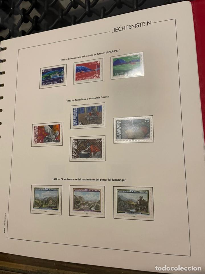 Sellos: Colección Casi Completa Sellos Liechtenstein 1969 a 1987 - Foto 35 - 248632895