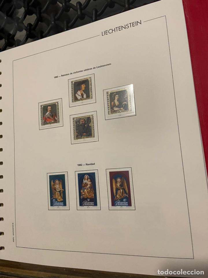 Sellos: Colección Casi Completa Sellos Liechtenstein 1969 a 1987 - Foto 36 - 248632895