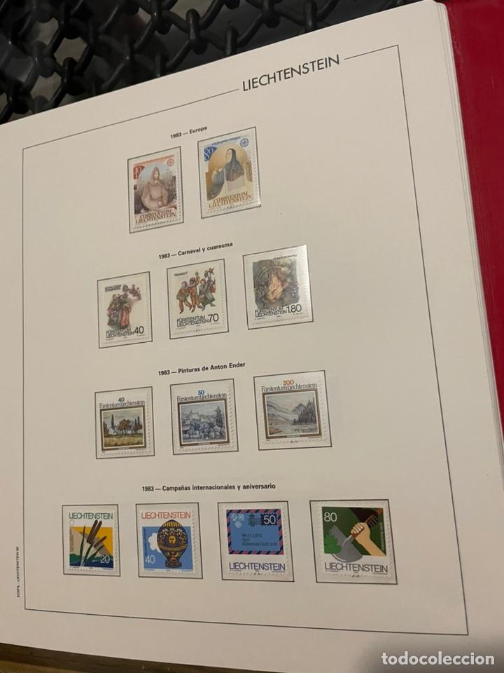Sellos: Colección Casi Completa Sellos Liechtenstein 1969 a 1987 - Foto 37 - 248632895