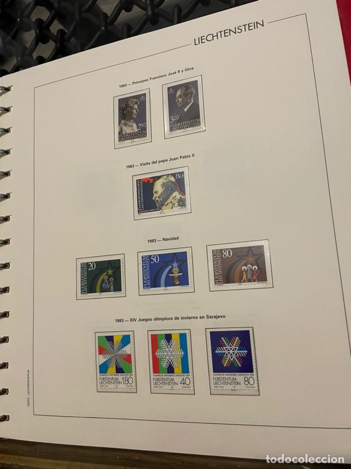 Sellos: Colección Casi Completa Sellos Liechtenstein 1969 a 1987 - Foto 38 - 248632895
