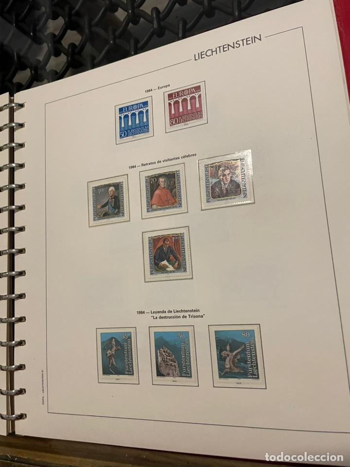 Sellos: Colección Casi Completa Sellos Liechtenstein 1969 a 1987 - Foto 39 - 248632895